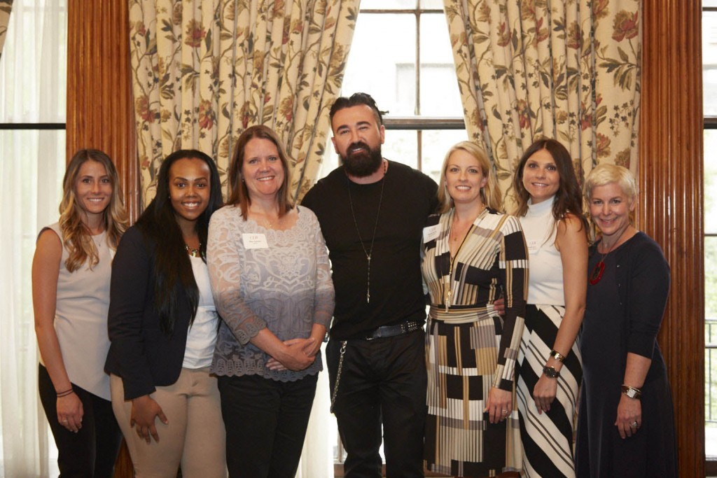 CEW   Beauty Insider Series – New York. Chris Salgardo President, Kiehl's - Center. Eileen Greenlay BNOInc left of Salgardo