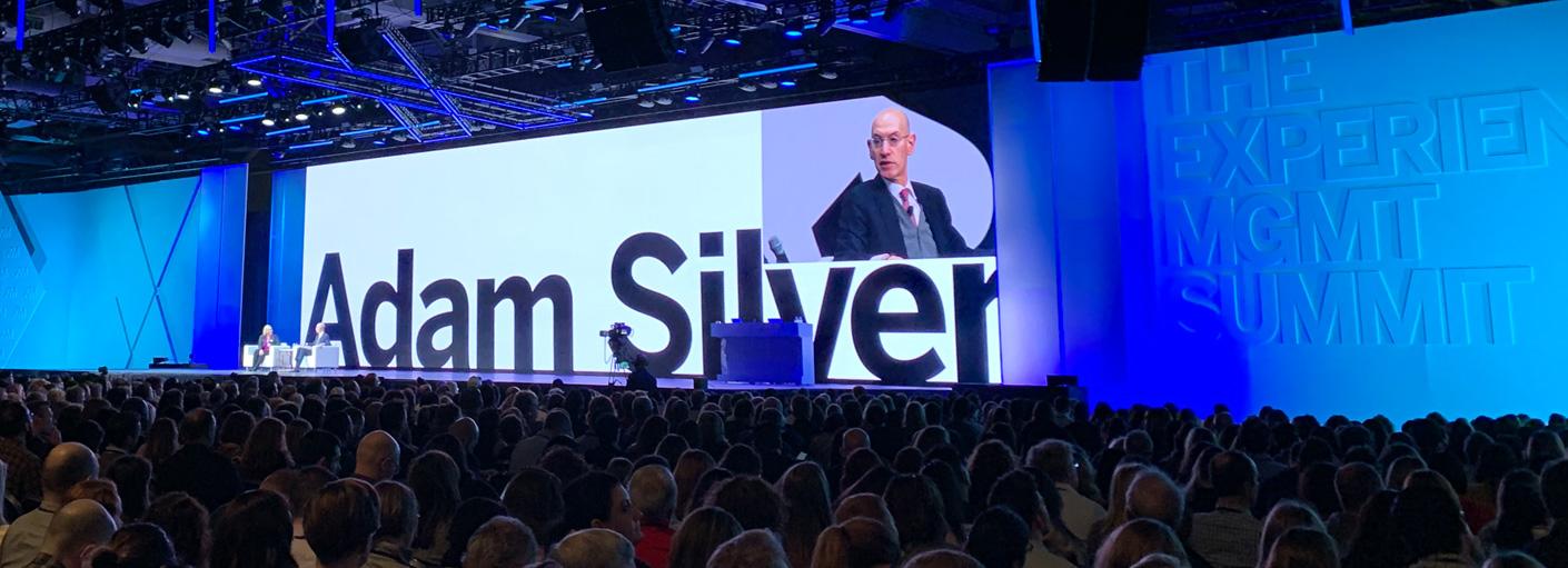 Adam Silver at X4 Summit