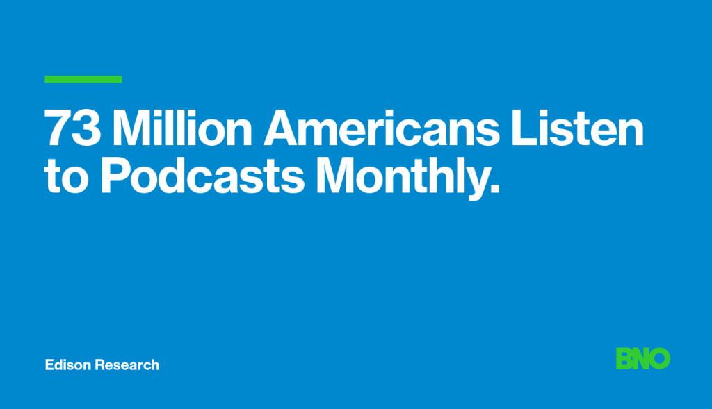 American podcast listeners.