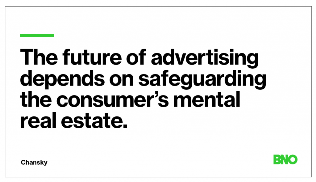 The future of advertising.